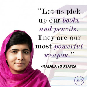 Malala Yousafzai Quotes About Women 10 of the greatest quotes from