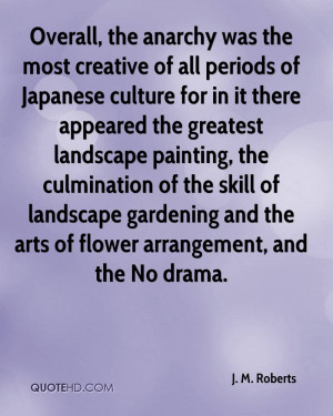 Overall, the anarchy was the most creative of all periods of Japanese ...