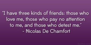 quotes by chamfort | nicolas de chamfort quote 24 Amusing and Funny ...