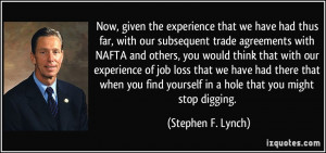 More Stephen F. Lynch Quotes