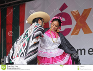 Folkloric Mexican Dance...