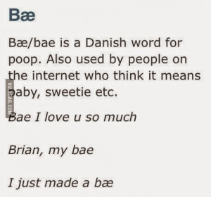 Seriously though, is adding the one letter to make it 'babe' really ...