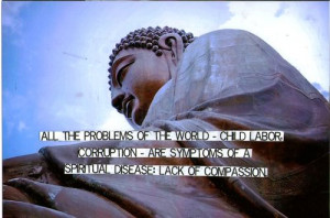Buddha Quote on Lack of Compassion