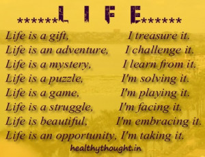 Life Quotes_what it life_life is a challenge_its my life_i live it_i ...