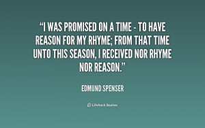 Edmund Spenser Quote