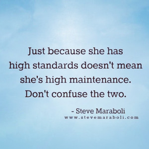 TAKE IT UP A NOTCH qotd quote quoted highstandard fashionista