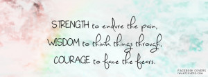 true strength facebook covers uploaded 285 times strength comfort ...