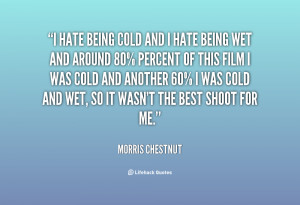 Quotes About Being Cold
