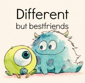 baby, best friends, cute, disney, mike, monster, monsters inc ...
