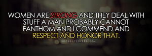 Women Are Strong Facebook Cover Photo