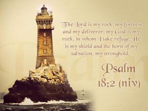 Psalm 18:2 – God Is My Everything Papel de Parede Imagem