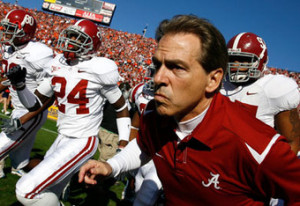Nick Saban Alabama Coach