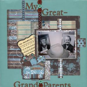 my great-grandparents - Scrapbook.com