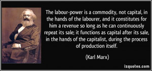 Showing Gallery For Karl Marx Quotes On Labour