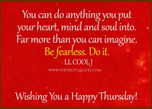Inspirational Thursday...