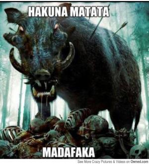 hilarious image, wild boar, lion king, meme, funny