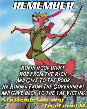This is not just a political statement. The REAL STORY of Robin Hood ...