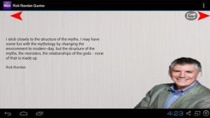 Rick Riordan - Quotes screenshot for Android
