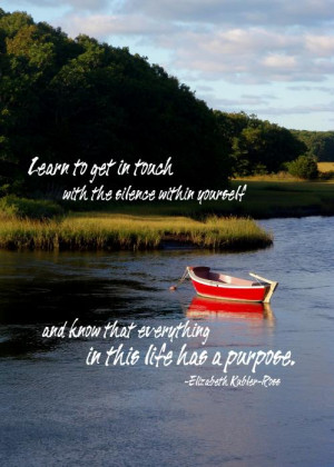 The Red Boat Quote Print by JAMART Photography