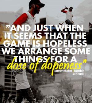 Kid Cudi Quote Rap Quotes Happy Kootation
