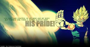 Majin Vegeta's PRIDE! by Eyoub