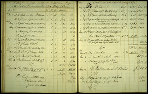 Ezra Cornell 39 s early accounts with Otis Eddy 1828 and Jeremiah S