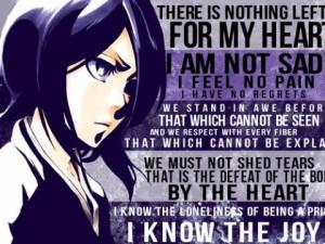 BLEACH Rukia Kuchiki quotes