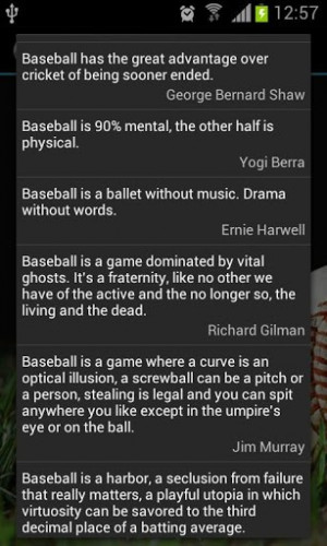 Baseball Quotes Screenshot 4
