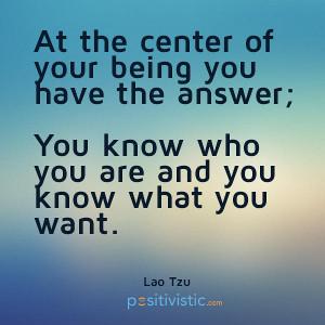 quote on purpose: laotzu inner self center quote wisdom life purpose ...