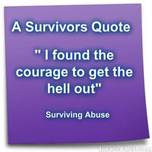 Survivors Quote