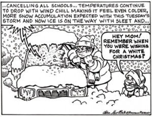 Sick Of Winter Cartoons Sick of the snow