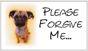 Please Forgive Me Ecard