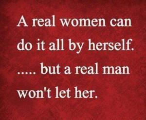 real woman...