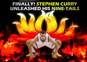 It's Confirmed.. Stephen Curry has Nine-Tails