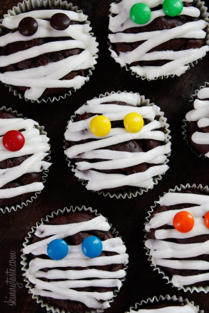 Halloween Parties, Halloween Mummy, Chocolates Mummy, Halloweencupcake ...