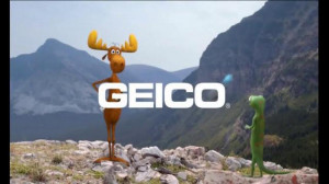 GEICO TV Spot, 'The Gecko's Journey: Rocky Mountains' - Screenshot 6