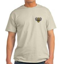 Fallen Police Officer Badge T-Shirt for