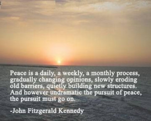 John Fitzgerald Kennedy quote