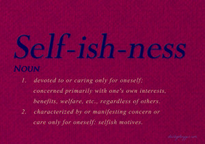 """According to Oscar Wilde, """"Selfishness is not living as one wishes ..."""