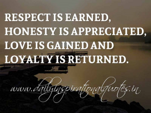Inspirational Quotes About Respect