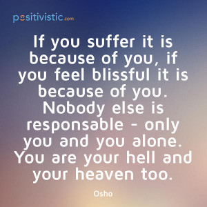 ... blissful hell heaven mindset attitude behaviour truth lifestyle