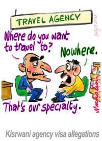 Kisrwani travel agency visa rort 200278