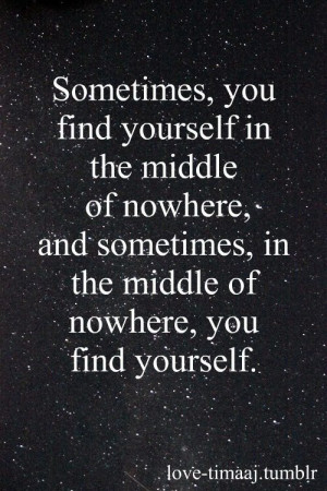 How I found myself. Mistakes can be miraculous.