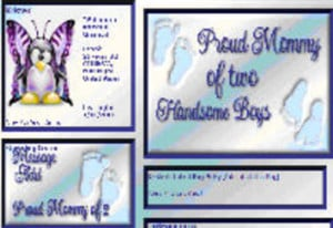 Mothers Day MySpace Layouts