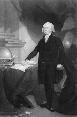 James Madison, Father of the U.S. Constitution