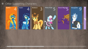 My Little Pony Soundboard for Windows 8 screenshot 3 - Besides the ...