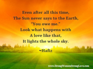 Hafiz Quotes Even After All This Time