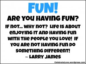 Focus on having fun together!