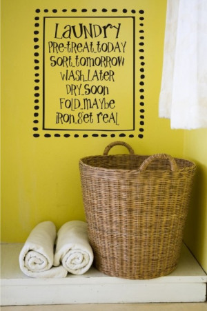 Sunday Swoon: Clever, Cute Laundry Rooms!