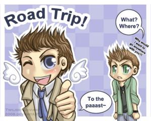 road trip!!! - supernatural-quotes Fan Art